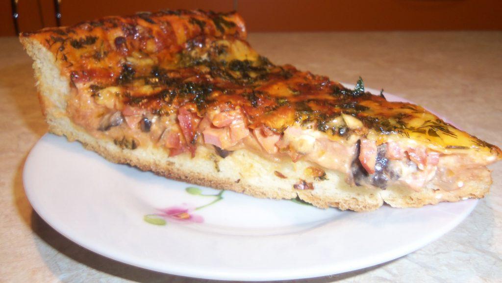 ДОМАШНЯЯ ПИЦЦА. Секрет Вкусного Приготовления Пиццы